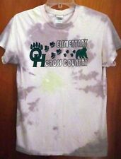 OTTAWA HILLS small T shirt Green Bears tie-dye tee OHIO cross-country school
