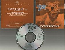 RAGING SLAB Don't Dog me GREAT DOG PHOTO PROMO DJ CD single 1989 90362RDJ