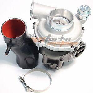 99.5-03 Ford 7.3L Powerstroke SizedA/R1.0 Upgrade GTP38 Turbo+4''Air Intake Pipe