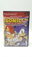 Sonic Mega Collection Plus - Playstation 2 / PS2 - Greatest Hits  Tested