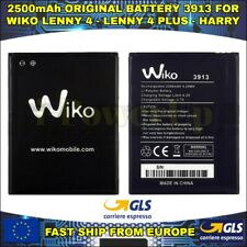 BATTERIA BATTERY WIKO 3913 LENNY 4 - LENNY 4 PLUS - HARRY AKKU ORIGINAL 2500mAh