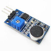 2pcs Sound Detection Sensor Module Sensor Intelligent Vehicle For Arduino car