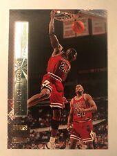 1995-96 TSC MICHAEL JORDAN SHINING MOMENTS #SM2 CHICAGO BULLS LAST DANCE