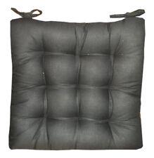 4 Coussins Galettes Dessus de chaise Gris