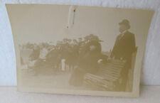"B & W Photo-Written On Reverse ""Tennis Tournament 1916-17"" Faded"