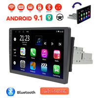 "10.1"" 1 DIN Android 10 Car Stereo Radio MP5 Player Touch Screen Bluetooth FM GPS"