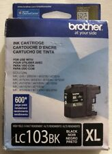 Brother LC103BK Black Ink Cartridge DCP-J132W Genuine New *Free Shipping*