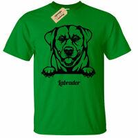KIDS BOYS GIRLS Labrador Poodle T-Shirt dog lover gift present Retriever