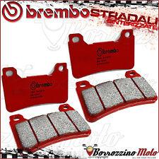 4 FRONT BRAKE PADS BREMBO SA RED SINTERED 07HO50SA HONDA CBR 600 RR ABS 2013