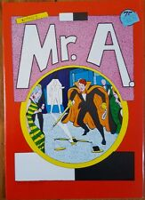 Mr. A Issue #2 First Print Independent Steve Ditko Comic Brand New Unread