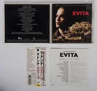 MADONNA Evita Original Soundtrack 1996 CD W/Obi WPCR 999 from Japan
