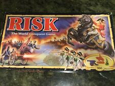 Parker Brothers Risk World Conquest Board Game COMPLETE 1993