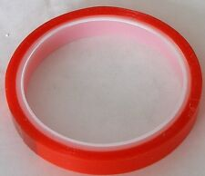 1 Roll Ultra Clear Super Sticky Red Liner Tape 12mm x5m