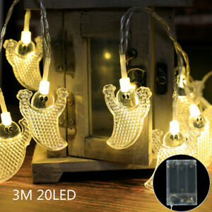 LED Lights Battery/USB Fairy String Lights Wedding Party Home Decor