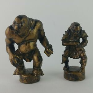 Orc & Cave Troll Lord of the Rings Fellowship Chess Replacement Figures D7