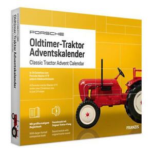 FRANZIS PORSCHE OLDTIMER -TRAKTOR ADVENT CALENDAR