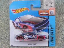 HOT WHEELS 2015 # 070/250 Tono Muscolare BLU Hw City CASE P
