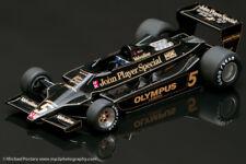1978 Lotus 79 JPS water transfer decals 1/20, Andretti, Peterson, Jarier