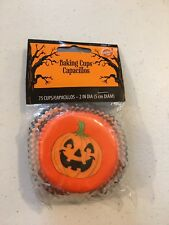 "NEW Wilton Fall Autumn Pumpkin Patch 75-2"" Baking Cups Halloween Thanksgiving"