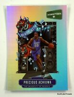 2020-21 Prizm Draft Precious Achiuwa Rc Downtown Insert SSP D-14 Heat Memphis