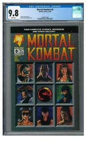 Mortal Kombat #0 1994 Malibu Comics Iconic Cover Sub-Zero Scorpion CGC 9.8 JZ339