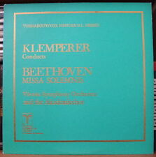 KLEMPERER/BEETHOVEN MISSA SOLEMNIS TURNABOUT/VOX HISTORICAL SERIES THS-65015/16