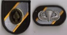 JOINT SPECIAL OPERATIONS CMD - FLASH DI CREST OVAL JUMP WINGS- FORCES OPERATIONS