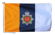 More details for royal army service corps british army flag with rope and toggle - various sizes