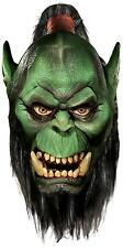 WORLD OF WARCRAFT DELUXE ORC OVERHEAD LATEX MASK! ADULT COSTUME WOW NEW