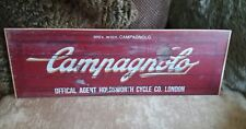 Campagnolo Cycles - Tour de France - Vintage Sign - Handmade, Rustic, Brand New