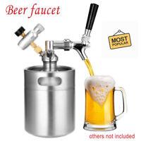 Beer Tap Intertap Flow Control Stainless Steel Faucet Shank G5/8 Tap Kit Top
