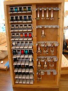 Bernina Sewing Accessory Storage Box Case only , no feet or bobbins or racks