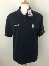 Adidas Climalite Men's Navy NBA Polo Shirt 'Panini' Size L
