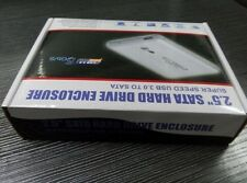 "2,5"" Zoll Festplattengehäuse USB 3.0 SATA Metallgehäuse Extern Schwarz"