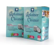 Retainer Cleaning Tablets - 6 Months 192 Tablets- keeps retainer brite & clean