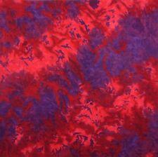 New MTL Red Purple Tie Dye Bandana