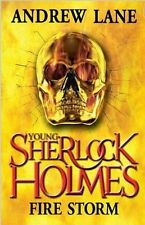 Firestorm 4 (Young Sherlock Holmes), Andrew Lane, Excellent Book