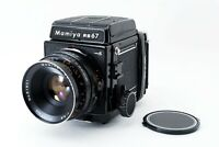 【EXC 5】 Mamiya RB67 Pro S + Sekor 127mm f/3.8 lens 120 Film Back From JAPAN 1303