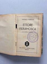 284G ETTORE FIERAMOSCA M.D'Azeglio - SALANI 1938