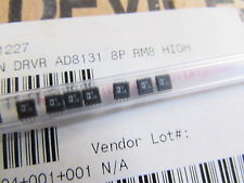 AD8131ARM Genuine Analog Devices IC OPAMP DIFFERENTIAL, 400MHZ, 8-MSOP, 1 PIECE