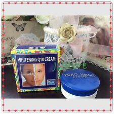 6 YOKO WHITENING CREAM CO ENZYME Q10 HERBAL EXTRACTS PREVENT PIMPLES 4grams each