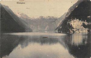 Salzburg Austria 1908 Postcard Kongsee Posted to San Francisco California USA