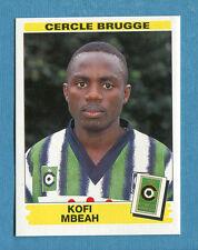 FOOTBALL 96 BELGIO Panini - Figurina-Sticker n. 92 -K. MBEAH-C.BRUGGE-New
