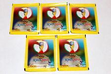 Panini WC WM Corea Japón 2002 02 – 5 x bolsa Packet bustina über pochette Mint!