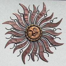 Wandhänger Wandschmuck Sonne aus Metall 96 cm