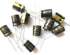 100uF 63V 105c basso ESR dimensioni 10mmx12.5 mm nover rx1j101mde x10pieces