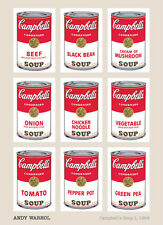 Andy Warhol - Campbell's Soup I, 1968 Art Print Large Poster 24x36