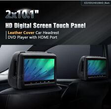 """XTRONS HD198HD 2X10"""" HDMI MONITOR POGGIATESTA HEADREST MONITOR BLACK NERI 1080P"""