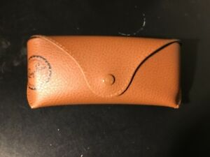 Ray Ban Original Sunglasses Glasses Eyeglasses Frame Optical Pouch Case brown