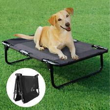 Raised Pet Bed Garden Elevated Dog Bed Camping Cot Indoor Outdodor Waterproof